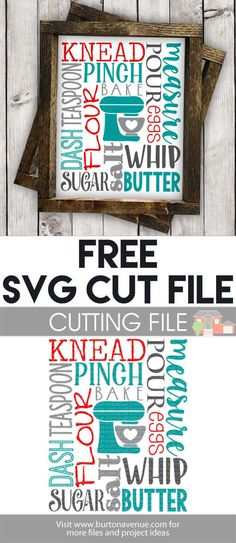 All free files are for personal use only. Please do not share, resell, or claim … Read more. Free SVG Cut File - Baking Subway Art - Free SVG files for Cricut & Silhouette Cricut Vinyl, Svg Files For Cricut, Cricut Air, Vinyl Decals, U Bahn, Freebies, Free Svg Cut Files, Subway Art, Digital Scrapbook Paper