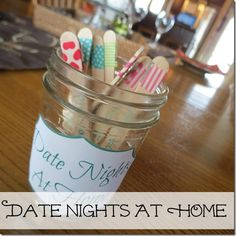 10 great staying in date night ideas!! Need to do these with the hubby!