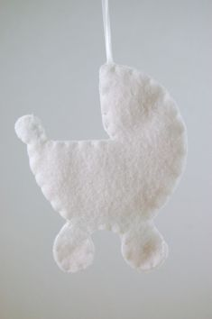 8f4dbb90c Personalized Baby Girl Ornament - Made to Order Felt Ornament. Primera  NavidadPrimer ...