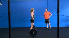 CrossFit - Coaching The Squat Clean with Josh Everett