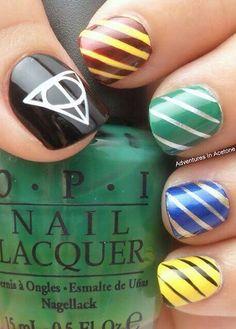Harry Potter nails!♡
