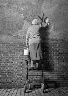 graffitis abuela