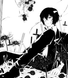 Dazai from Bungou Stray Dogs
