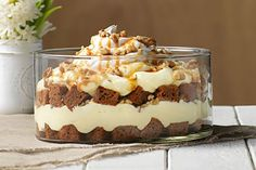 Take carrot cake to the next level with our Carrot Cake Trifle. You'll be pleasantly surprised at how easy it is to make this sweet Carrot Cake Trifle.