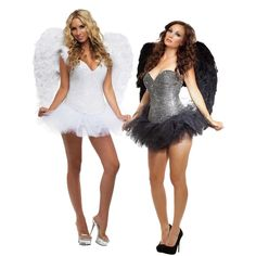 Sexy Angel Costume for Women Adult Halloween Fancy Dress | Clothing, Shoes & Accessories, Costumes, Reenactment, Theater, Costumes | eBay!