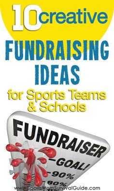 Tired of the same old boring fundraisers? Check out this list of 10 creative, new and different fundraising ideas. Great for sports teams, schools or any group that needs to do a fundraiser!