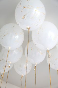 DIY Painted balloons