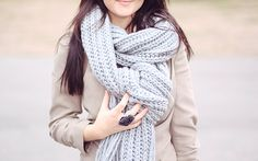 the color of the scarf   #CBFallSpree @Armanda Costa Blanca