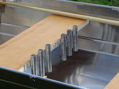 Support de cannes aluminium