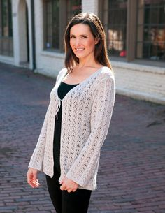 2a57cf0fb0a5c6 PATTERNFISH - the online pattern store Lace Cardigan