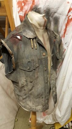 Finished wastelander jacket. For use at the world went dark