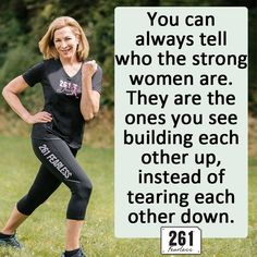 3.  261 Fearless quote from Kathrine Switzer. #261Fearless  #SkirtSports #REALWomenMove