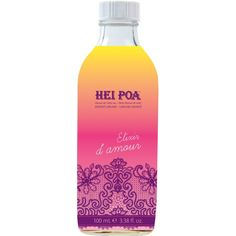 Hei Poa Monoi Oil Umhei Elixir D'amour Monoi Oil with 7 Aphrodisiacs from Polynesia Hei Poa, Water Bottle, Mystique, Packaging, Beauty, Inspiration, Hair Conditioner, Beauty Care, Plants