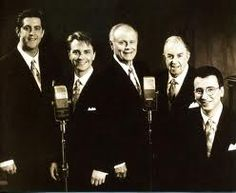 """The Cathedrals"" gospel singers. I've always had a weakness for Southern Gospel, can't get enough."