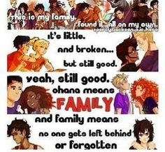 """This is so awesome!! I seriously love this to death. It broke my heart how Leo and Nico are in the last one that says """"no one get's left behind or forgotten"""""""