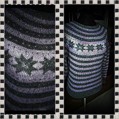 Fana genser med rundfelling