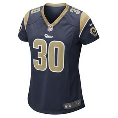 ba9471c8d Nike NFL Los Angeles Rams (Todd Gurley) Women's Game Football Jersey Size  XL (College Navy)