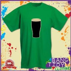 St Patricks Day Irish Stout Mens Green T Shirt  Our Price: £10.97