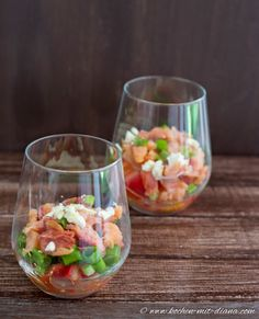 Kochen mit Diana/ Cooking with Diana: Hawaiianischer Lachssalat/ Hawaiian Salmon Salad