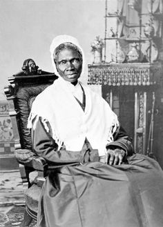 Sojourner Truth was the self-given name, from 1843 onward, of Isabella Baumfree, an African-American abolitionist and women's rights activist. Truth was born into slavery in Swartekill, New York, but escaped with her infant daughter to freedom in 1826. Her best-known extemporaneous speech on racial inequalities, Ain't I a Woman?, was delivered in 1851 at the Ohio Women's Rights.