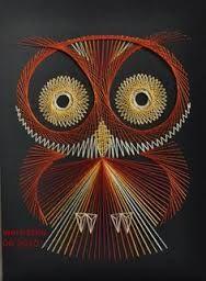 owl string art - Buscar con Google