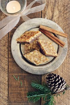 Walnut Cinnamon Florentine Cookies {grain free, gluten free}