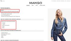 mango results search