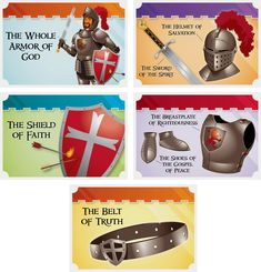 kingdom chronicles VBS   Kingdom Chronicles VBS: Armor of God Collectible Cards   Answers in ...