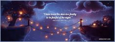Quotes About Love and Stars | Have Loved the Stars Facebook Cover