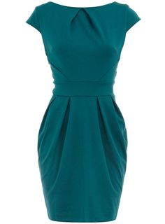 Teal lampshade dress - New In Dresses - Dresses - Dorothy Perkins United States