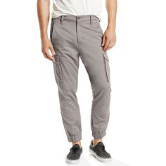 Men's Levi's® Cargo Jogger Pants, Size: 32X32, Grey Other