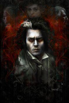 Sweeney Todd Movie Poster by jonsibal.deviantart.com on @deviantART