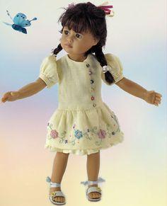 lei li doll butterfly collection Heidi Plusczok dolls