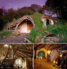 Oh!! I have a picture of this house saved from years ago! Its still my dream eco house!!