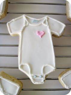 homemade by jill: baby shower cookies