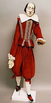 "Theater Puppet ""Shakespeare"" by Bruce D. Schwarz 1955 International Puppetry Museum"