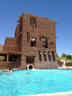 Bella enjoyed this today - HEATED POOL!!!  So much fun- The Hyatt Regency Tamaya Resort near Albuquerque, New Mexico Travel New Mexico, Weekend Trips, Albequerque New Mexico, Vacation Spots, Grand Canyon Az, Places To Travel, Travel Tips, Visit Santa, Mexico Resorts