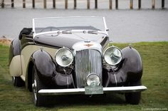 1939 Lagonda New cogs/casters could be made of cast polyamide which I (Cast polyamide) can produce Retro Cars, Vintage Cars, Antique Cars, Vintage Auto, Aston Martin Cars, Aston Martin Lagonda, Classic Motors, Classic Cars, Pebble Beach Concours