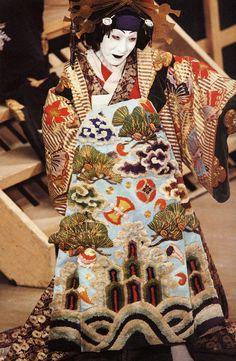 Kabuki Theater Costumes | Le théâtre japonais Kabuki – The Japanese theater Kabuki
