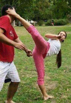 Sexy Girl Martial Art