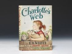 "First edition of one of the most delightful and beloved children's books, a cornerstone of any collection of modern children's literature. The most celebrated of White's three children's books, ""Charlotte's Web is rightly regarded as a modern classic"""