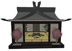 Image result for japanese tea house Japanese Tea House, Traditional Japanese House, Bath Stool, Japanese Landscape, Pole Barn Homes, Gazebo, Beach House, Outdoor Living, House Plans
