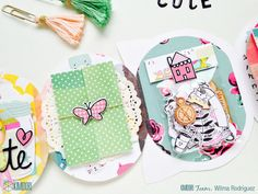 Mini Scrapbook Albums, Mini Albums, Snail Mail Pen Pals, Arts And Crafts, Paper Crafts, Heidi Swapp, Pocket Letters, Scrapbook Embellishments, Happy Mail