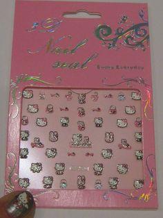 Disney Nail Decals Uk Japanese Nail Design, Japanese Nails, Nail Decals, Nail Stickers, Disney Nails, Hello Kitty, Nail Designs, Nail Desings, Disney Inspired Nails