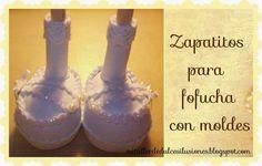 Molde De Zapatos Para Fofucha De ComunióN