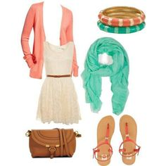 Love: the playful style and color combo Dislike: Hate: length of dress Have: