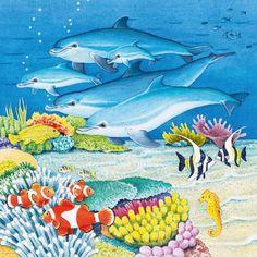 Begeleide of zelfstandige activiteit - Praatplaat in de zee