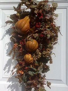 New England Harvest Wreath Fall Swag For Door Wreaths For Door http://www.amazon.com/dp/B00NQDMTYI/ref=cm_sw_r_pi_dp_dWUiub0350D5M