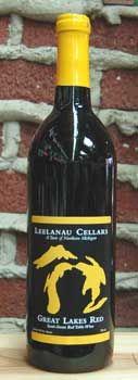 Leelanau Cellars Great Lakes Red: My very favorite Michigan wine!