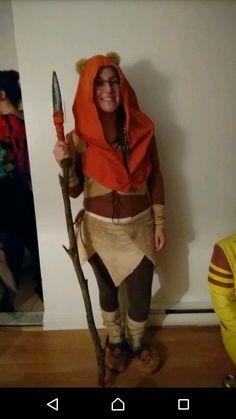 Ma version du ewok costume!!! :)